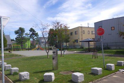 完成した公園の様子